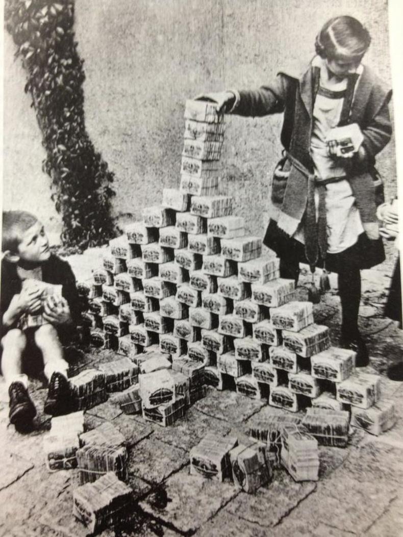 1919-1923 оны хоорондох Германы инфляци