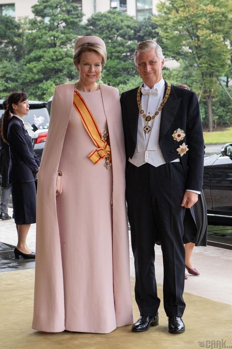 Бельгийн хаан Филипп болон хатан хаан Матильдa