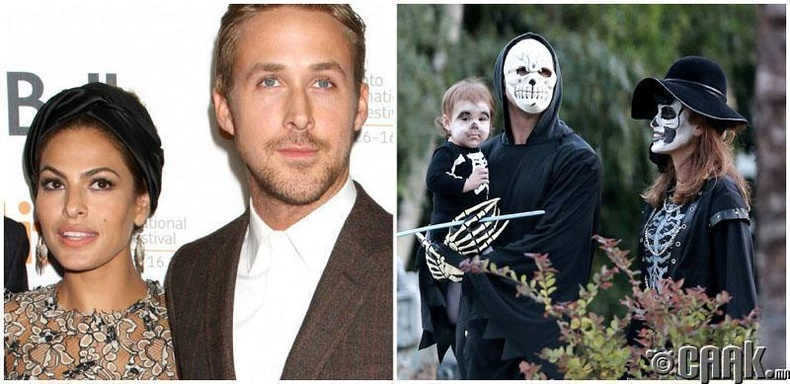 Райн Гослинг ба Ева Мендез /Ryan Gosling, Eva Mendes/