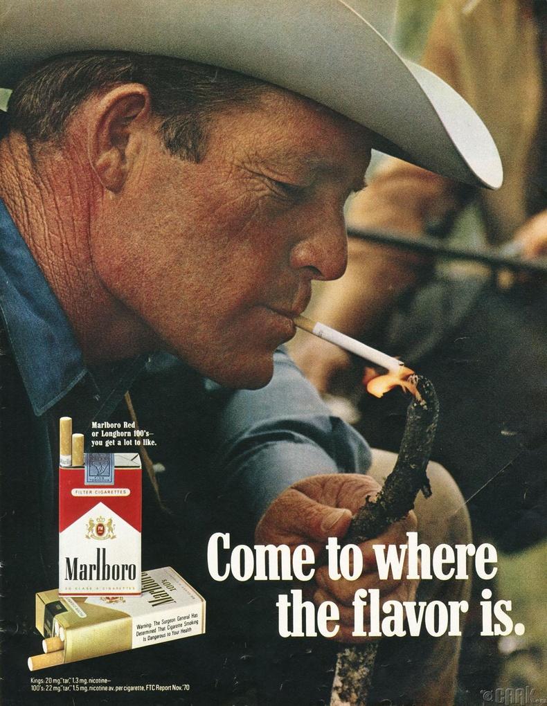 """Marlboro: """"Marlboro Man"""""""