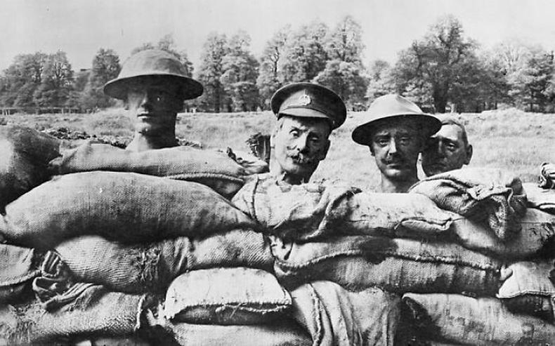 Дэлхийн 1-р дайны үед өгөөш болгон ашиглаж байсан толгойнууд