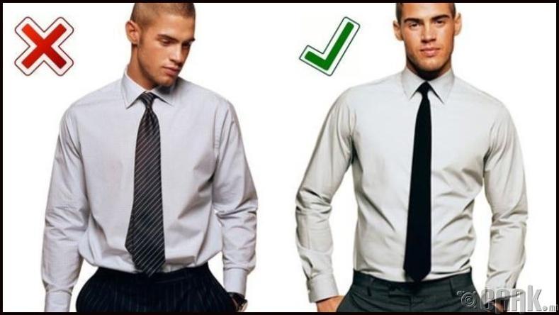 Костюмдаа зориулж хэрхэн цамц сонгох вэ?