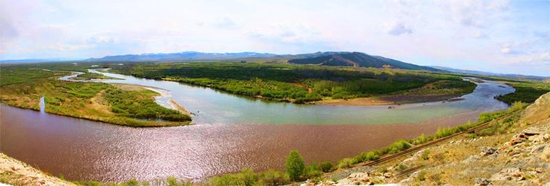 Орхон гол болон Сэлэнгэ мөрөн