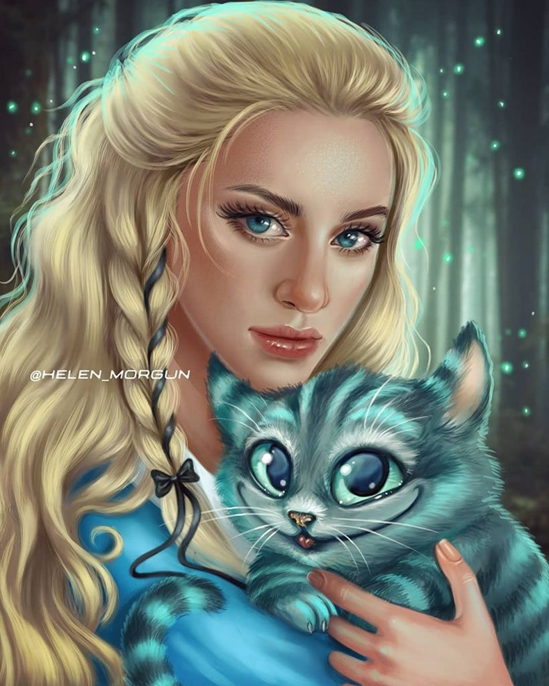 Алисагийн дүрд Лилли Рейнхарт (Alice in Wonderland)