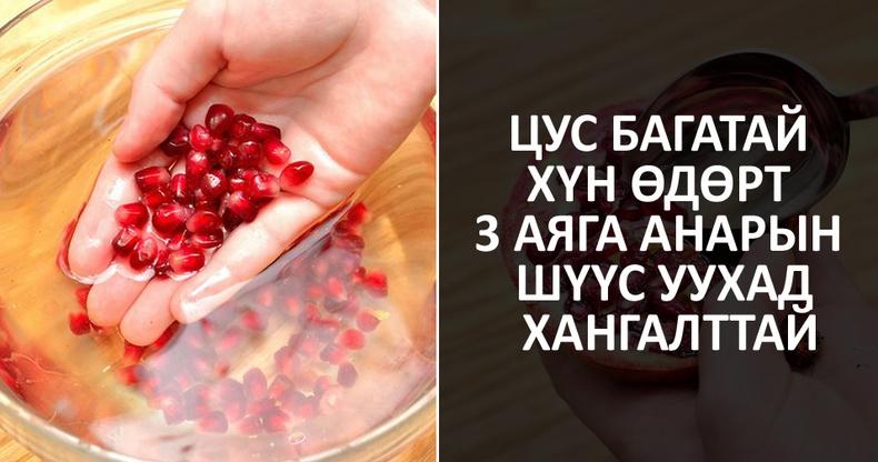 Анар жимсний гайхалтай ашиг тус