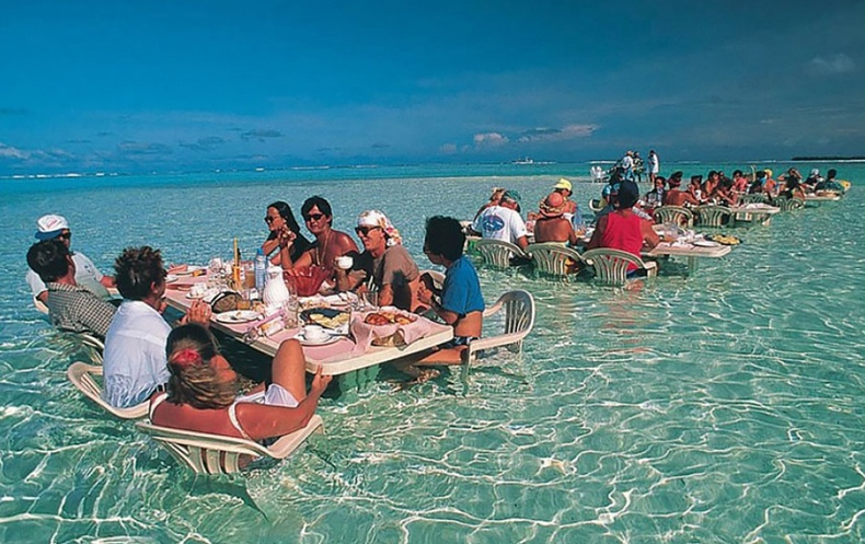 Дэлхийн хамгийн өвөрмөц ресторанууд