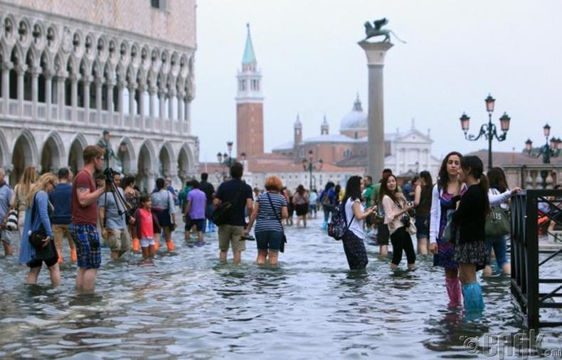 Венеци амьдрахад тохиромжгүй болж мэднэ