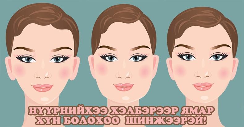 Таны нүүрний хэлбэр юу өгүүлж байна вэ? /сонжоо/