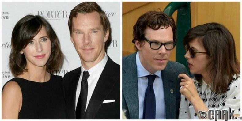 Бенедикт Камбербатч ба Софи Хантер /Benedict Cumberbatch, Sophie Hunter/