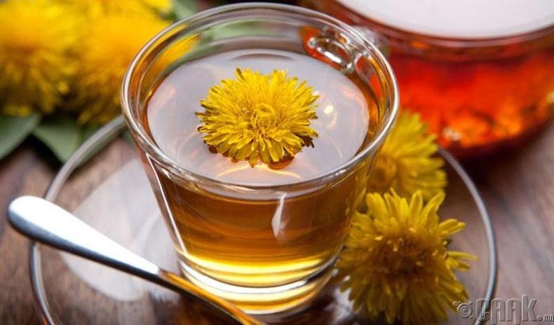 Балжингарав цэцгийн цай