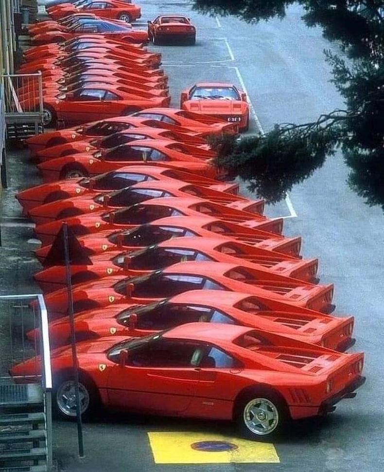 Феррари автомашины үйлдвэр, 1984 он.