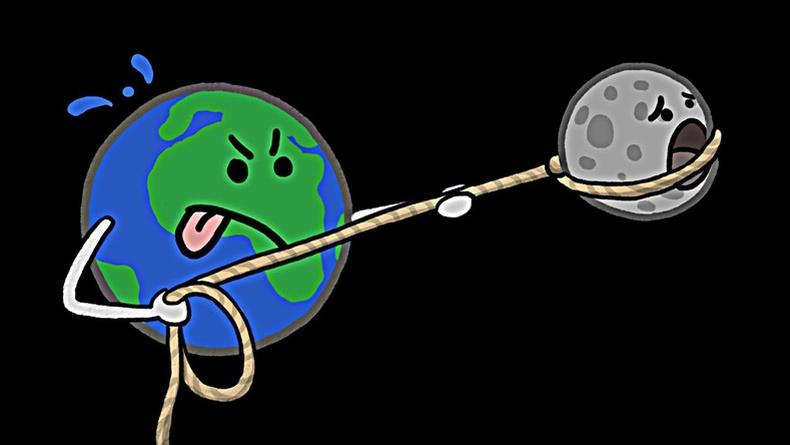 Сар дэлхийг орхивол юу болох вэ?
