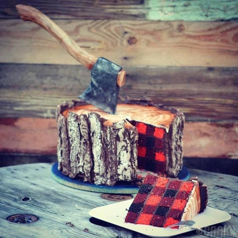 Эрчүүдэд зориулсан бялуу
