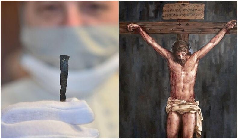 Чехийн археологчид Христийг цовдолсон хадаасыг олсноо зарлажээ