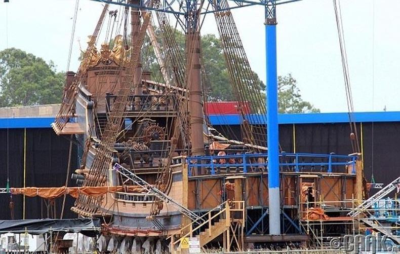 """""""Карибын тэнгисийн дээрэмчин V"""" (Pirates of the Caribbean: Dead Men Tell No Tales)"""