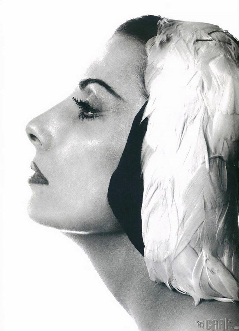 Оросын балетчин Тамара Туманова, 1956 он