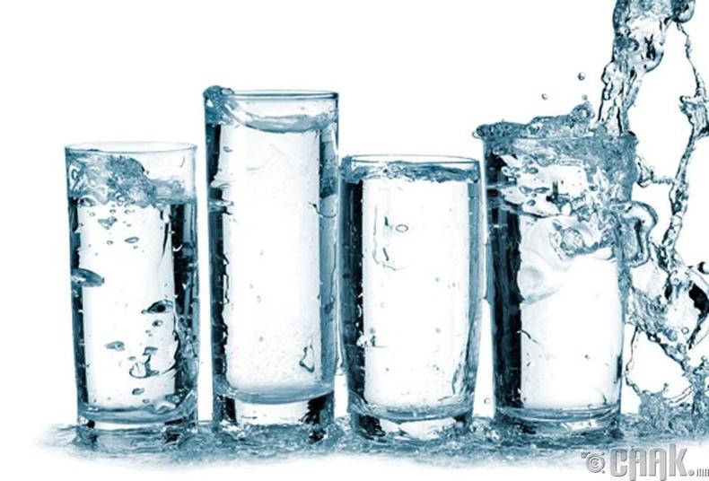 Бөөрний чулууг усаар хайлуулж болдог уу?