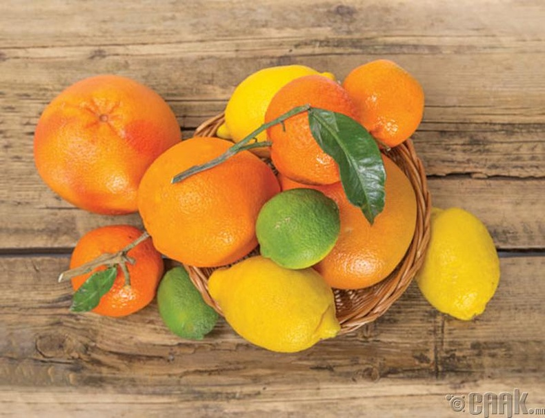 Хүчиллэг жимснүүд