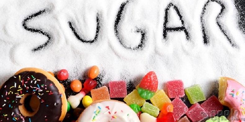 Сахар бага хэрэглэх