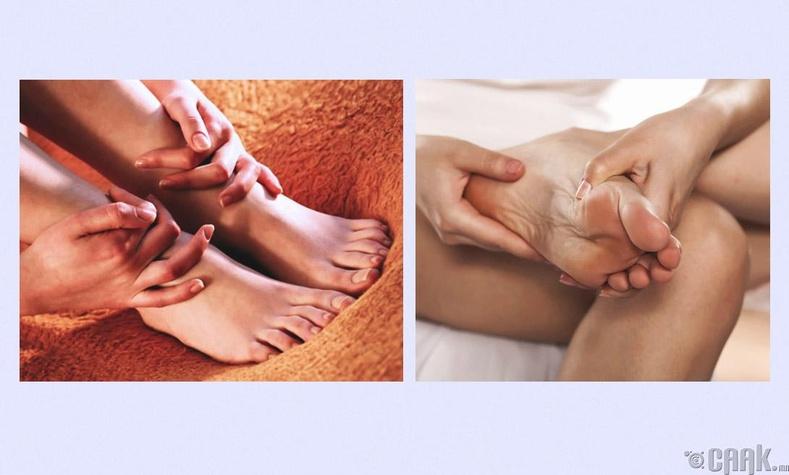 Хөлийн массаж