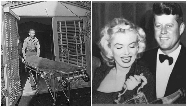 Мэрилин Монрогийн үхлийн 7 шалтгаан