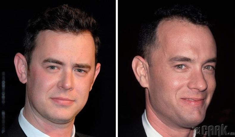 Колин Хэнкс (Colin Hanks) болон жүжигчин Том Хэнкс (Tom Hanks )