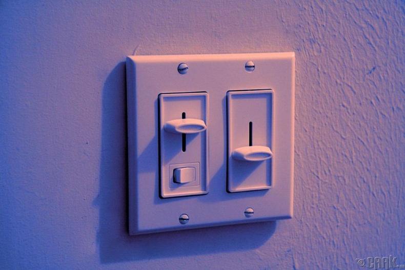 Өрөөнийхөө гэрлийг бүдгэрүүл