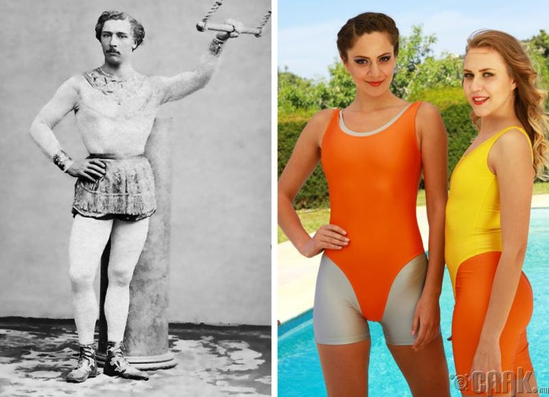 Спортын усны хувцас буюу леотар: Жюль Леотар