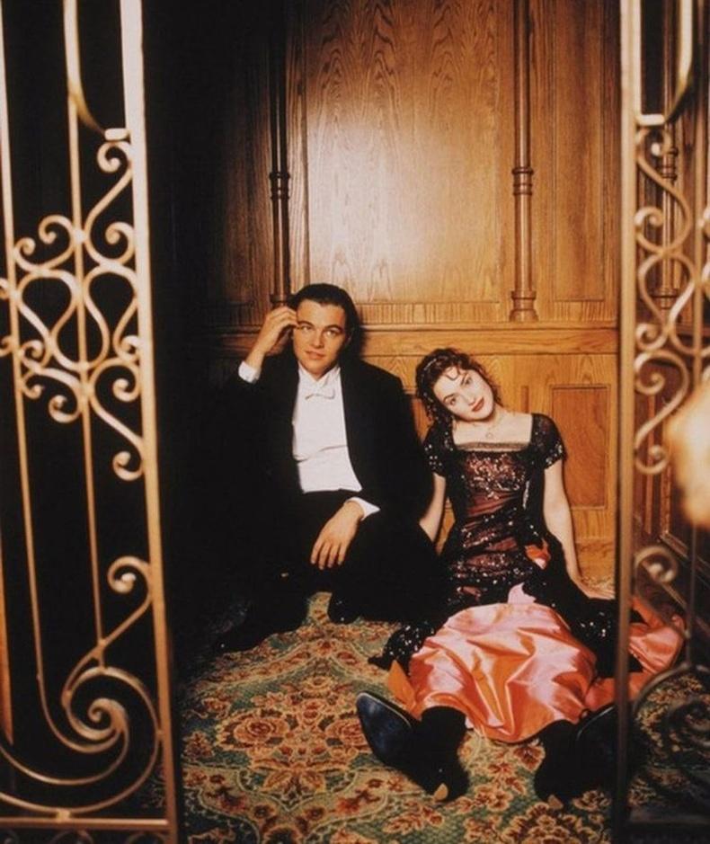 Леонардо Ди Каприо, Кейт Уинслет нар Титаник киноны зураг авалтын үеэр, 1996 он