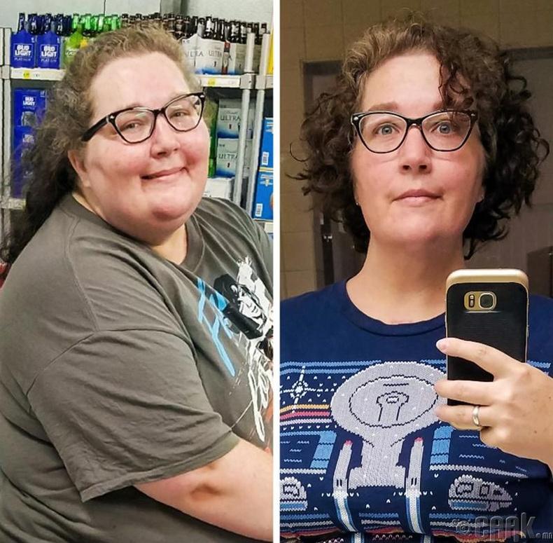 Жилийн дотор 55 кг жин хасахад огт өөр хүн шиг харагдаж байгаа биз