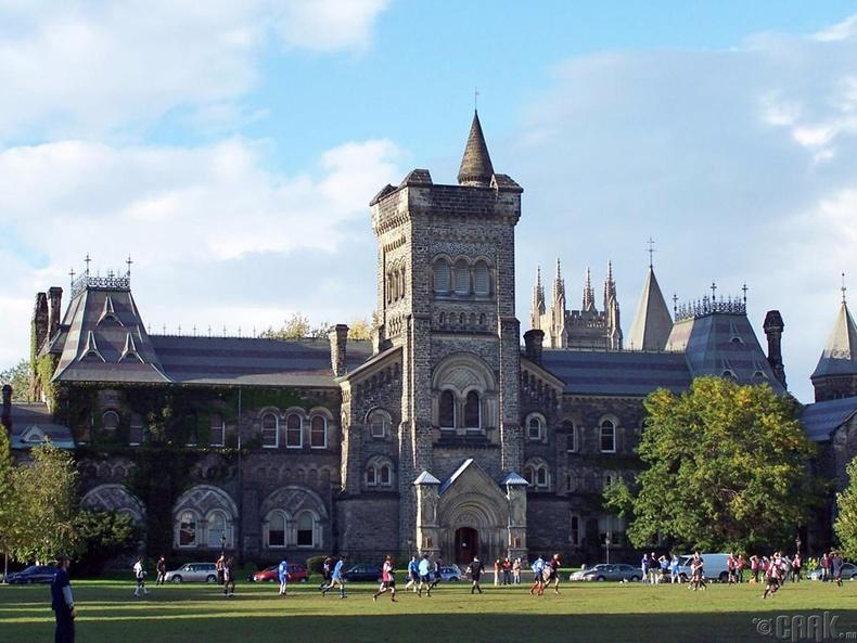 Торонтогийн их сургууль (University of Toronto), 83.8