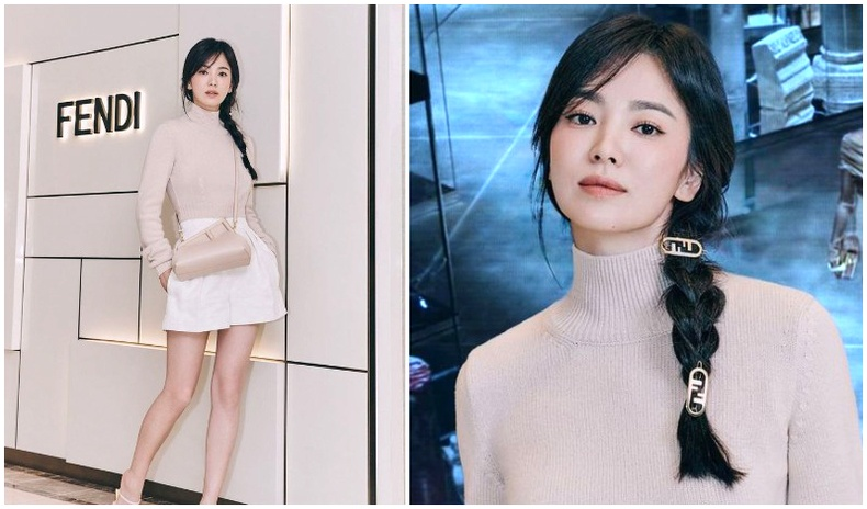 """40 нас хүрч буй Сун Хе Гю """"Fendi"""" брэндийн нүүр царай болж, гоо үзэсгэлэнгээрээ гайхшруулжээ"""