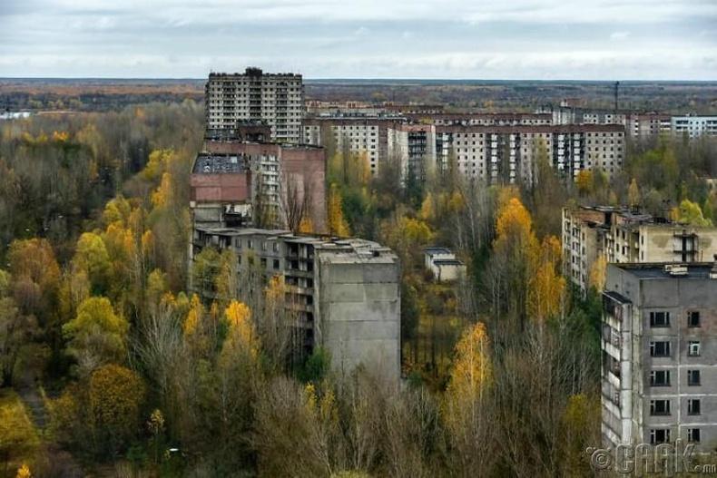 Припять, Украин