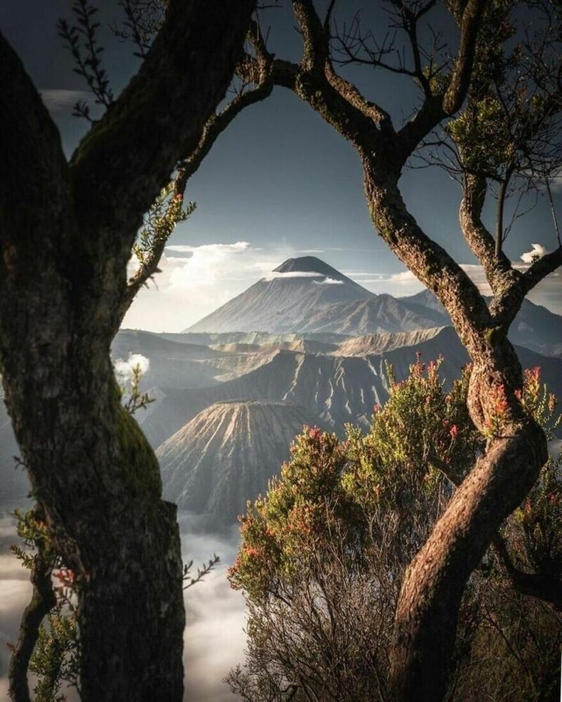 Бромо уул, Индонези