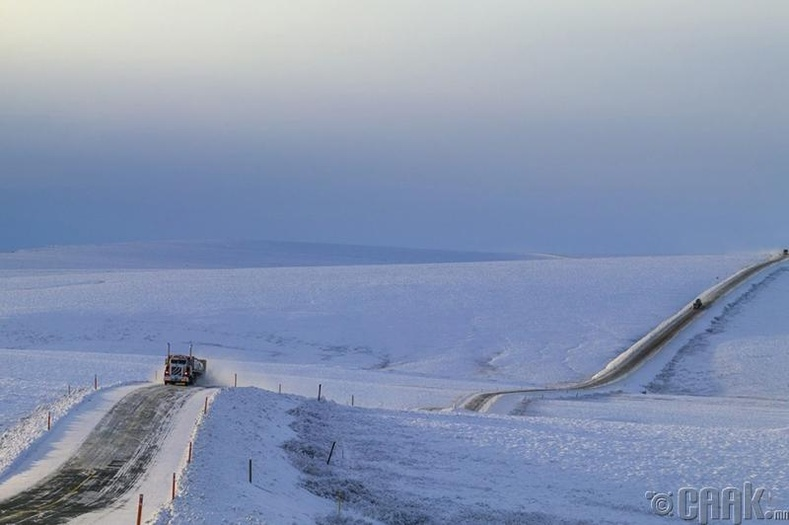 Аляска, Далтоны хурдны зам