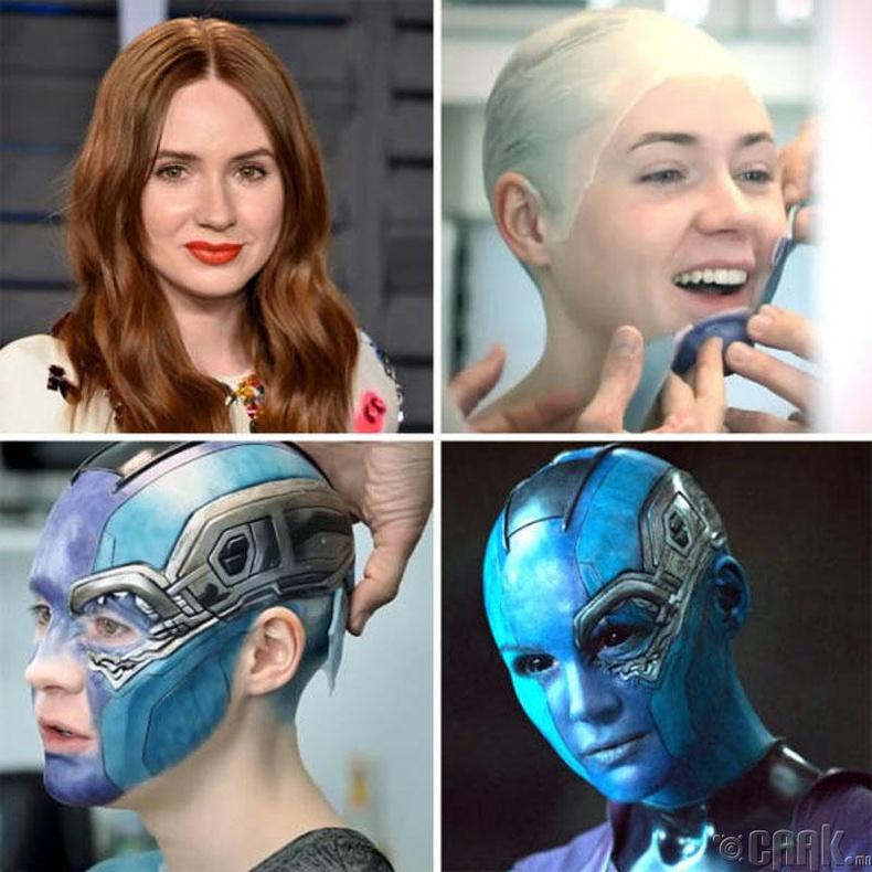 """Карен Гиллан, """"The Avengers"""""""