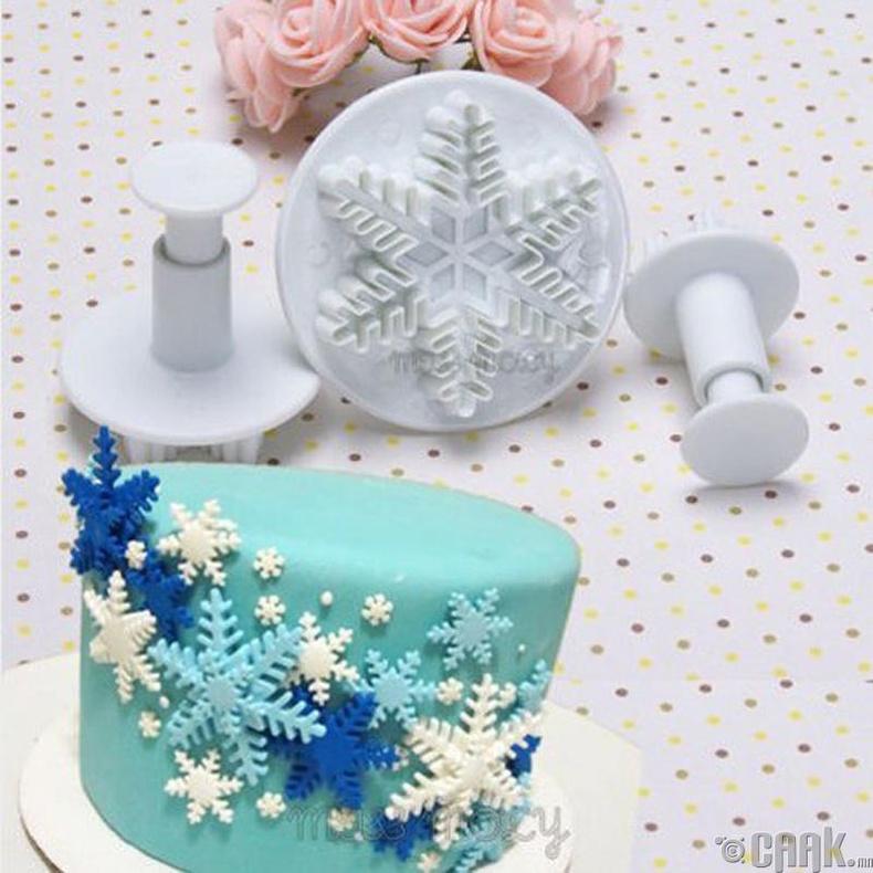 Бялуу чимэглэх хэв