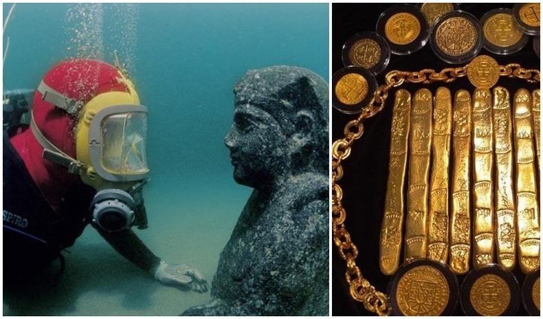 Далайн гүнээс олдсон хамгийн үнэтэй олдворууд