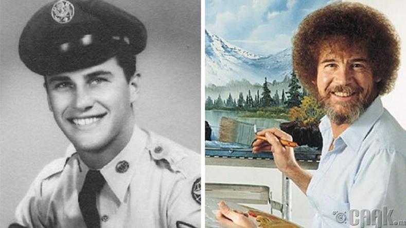Зураач Боб Росс, АНУ-ын агаарын хүчин, 1961-1981