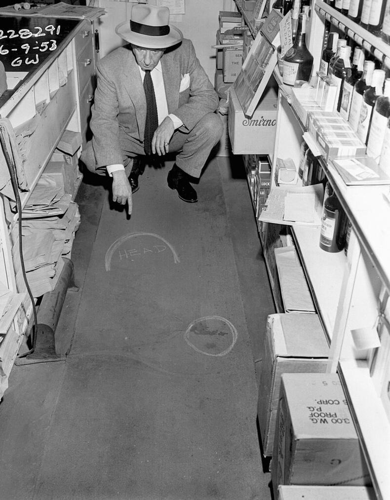 Лос-Анжелес хотын Олимпикд гарсан аллагын газар, 1953 оны 7р сарын 9