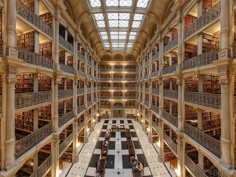 Жорж Пибодиын номын сан, Балтимор, АНУ