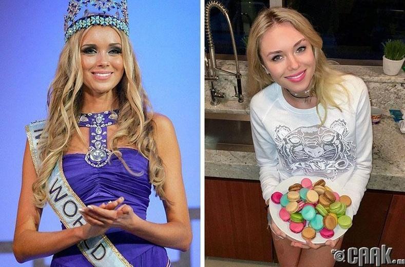 """Ксения Сухинова, ОХУ """"Miss world - 2008"""""""