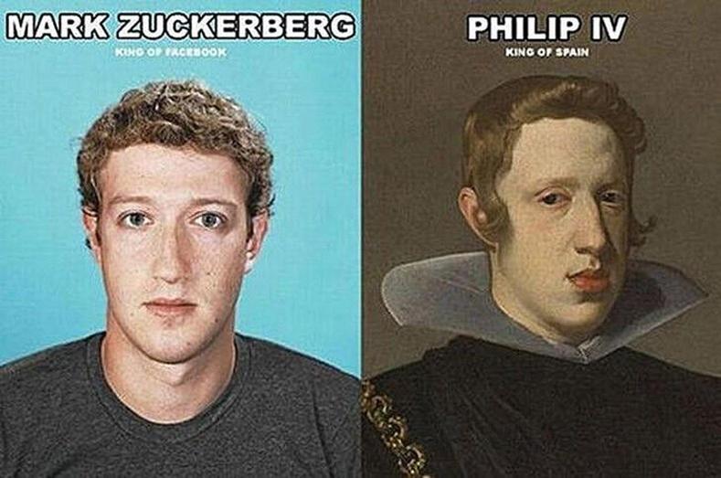 Марк Цукерберг,  IV Филип хаан (Mark Zuckerberg, Philip IV)