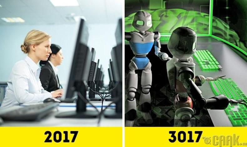 Маш өндөр хөгжсөн роботууд бий болно