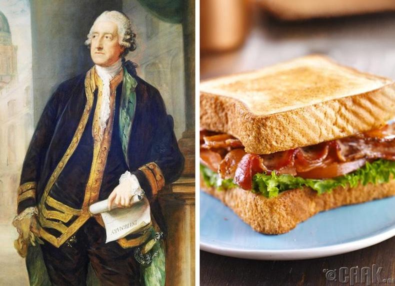 Сэндвич: Жон Монтегю, Сэндвич удмын дөрөвдүгээр гүн