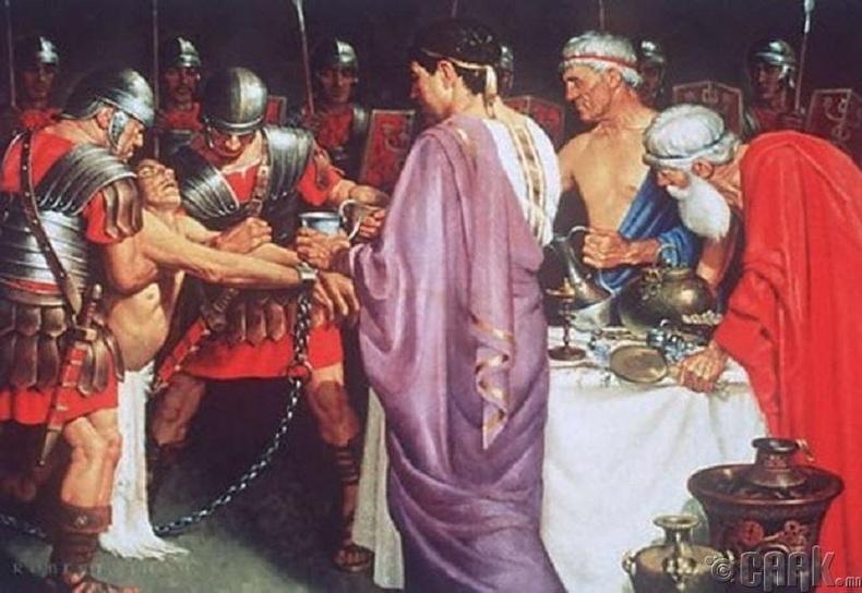 Митридат хаан хорны дархлаатай байв