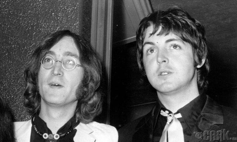 Дуучин Жон Леннон, Паул Маккатни болон Шон Леннон, Жэймс Маккартни (John Lennon, Paul Mccartney, Sean Lennon, James Mccartney)