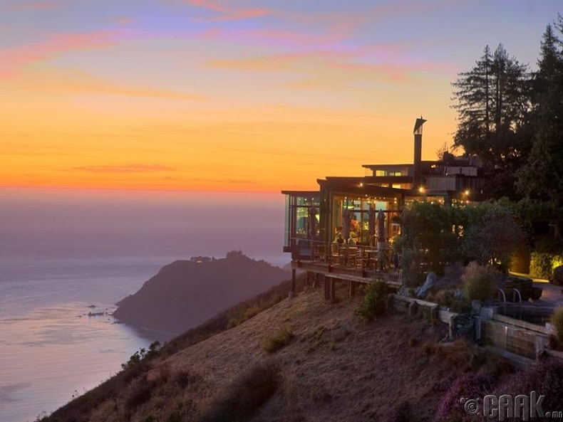 """""""The Sierra Mar"""" ресторан - Калифорни, АНУ"""