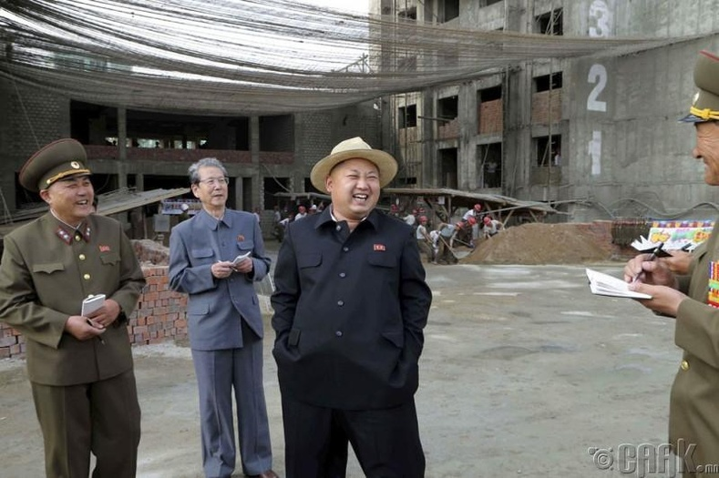 Ким Чек политехникийн их сургуулийн барилгын талбай дээр, 2014 оны 5 сарын 21