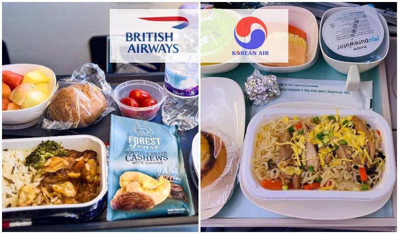 Орон орны нислэгийн компаниуд зорчигчдодоо ямар хоол өгдөг вэ?